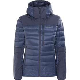 Norrøna Falketind Down750 Hood Jacket Women Indigo Night